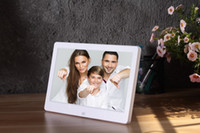 Wholesale inch High Resolution HD Wide Screen Digital Photo Frame Photo Album MP3 MP4 Movie Player Alarm Clock with Remote Control