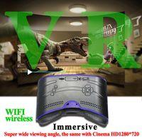 VR518 VR boîte tout en une machine Verre virtuel VR verres 5 pouces LCD allwinner A33 cortex A7 Quad Core à 1.3GHz Android 3D app libèrent le bateau