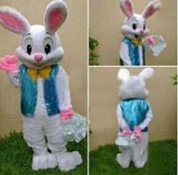 Wholesale 2016 new sell like hot cakes PROFESSIONAL EASTER BUNNY MASCOT COSTUME Rabbit Hare Adult