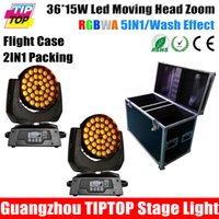 angle flights - China Stage Lighting XLOT W RGBWA IN1Zoom Led Moving Head Light Beam Angle Adjustable by Flight case Road case Rack case