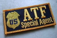 alcohol specials - US Alcohol Tobacco and Firearms Bureau ATF agents SPECIAL AGENT badge armband