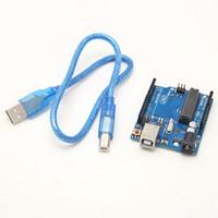 Wholesale ElectronKid Arduino ATmega328 ATmega16U2 Uno R3 Rev3 Development Board B00144 BARD