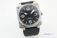 bell movement - NEW Bell Automatic Movement Men s watch best Watches Ross black rubber band vv10