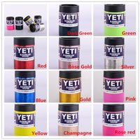 brief beer in cans - Multi colors oz Stainless Steel Colster can Yeti Coolers Rambler Colster YETI Cars Beer Mug Insulated Koozie oz Cups in Stock