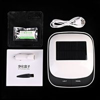 Wholesale Solar Energy Intelligent Control Car Home Air Purifier Purification Box Removing Formaldehyde Reduce PM2 Release Freshener