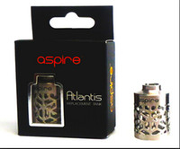 100% original Aspire Atlantis creusé manchon manchon 2ML Atlantis tube en acier inoxydable pour atomiseur E-cigarette Accessoires