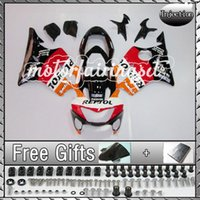 Wholesale Injection Molded fairing Fit CBR600 F4i CBR free gift bolts screws windscreen shieldscreen Red Orange D37