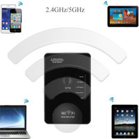 Wholesale 2 G GHz Dual Band Mbps Mini Wireless N Wifi Repeater b g n u Router EU US UK Networking Adapter Range Expander