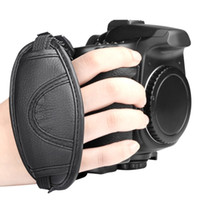 Wholesale High Quality Camera Wrist Hand Straps Grip Universal for Canon EOS Nikon Sony Olympus SLR DSLR Leather Strap