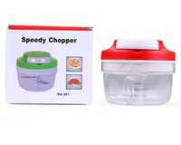 Wholesale Essential Chopper multifunctional hand Speedy vegetable spiralizer salad chef onion chopper shredder Kitchen Fruit Vegetable Cutting