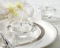 Wholesale Free by DHL FEDEX Wonderful k9 Crystal Candle Holders Tealight Candle Holders For Wedding Decoration Centerpieces