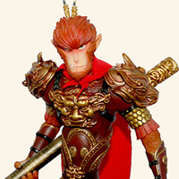 Wholesale Hot Movie Cartoon Statue Monkey King Hero Is Back Sun Wukong Collectible Figure PVC Toys