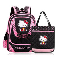 Wholesale New Fashion Children School Bags Infantil Bolsas for Girls Backpack Female Kid Bag Child Printing Backpacks for Teenage Girls