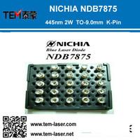 Wholesale NICHIA NDB7875 nm nm1600mW mW W Watt TO mm K Pin Blue Laser Diode LD