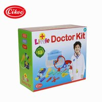 Wholesale Doctor CIKOO Sri Playsets playing the little doctor play toys medicine with convenient carrying bag
