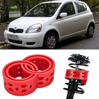 Wholesale 2pcs Super Power Rear Car Auto Shock Absorber Spring Bumper Power Cushion Buffer Special For Toyota VitZ