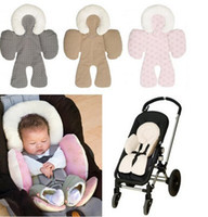 baby head cushion - Baby Strollers Body Support Pad Mat Compliance Baby Car Seat Stroller Baby Head Body Support Cushion