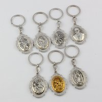 band icon - Hot DIY Accessories Material Zinc Alloy mix Jesus Christians Icon Charm Band Chain key Ring