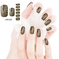 art printing services - Superior quality Hot Animal pattern Nail Art Stickers Rich Styles Super sexy Cute Leopard print Provide customized service