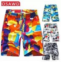 wim - Men Beach Shorts masculino Summer Style Men Beach Shorts men bermuda masculina Brand wim Surf Male Short Board running Mens swimwear