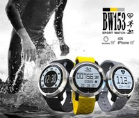 Wholesale 2016 Original New Smart Watch Waterproof With Extra Changable Strap Support Real Time Heart Rate Test Sports Style For Swimming BW153