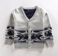 Wholesale Kids Sweaters Double Layer Thickening Sweater New Style Cotton Sweater C451 Free Choose the Size Colors