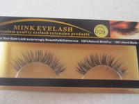 Wholesale Factory direct Natural Mink Hand made False Eyelash Brand Fashion Lash Black Full Strip Fake Lashes MINK Eyelashes Makeup Tool