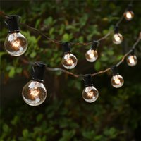 ball umbrella - String Lights with G40 Globe Bulbs UL listed for Indoor Outdoor Commercial Outdoor Hanging Umbrella Garden Patio Lamp Lights