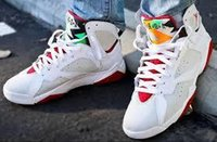 Wholesale Air Jordan Retro quot HARE quot White True Red Light Slvr Trmln Jordans Retros s Hare Bugs Bunny White Red With Original Box