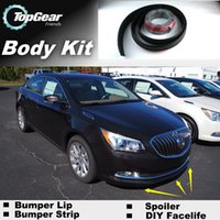 allure kit - Bumper Lip Lips Front Skirt Deflector Spoiler For Car Tuning The Stig Recommend Body Kit Strip For BUICK Allure