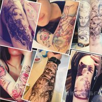 Cheap Flowers arm tattoo paste large waterproof skulls carp duke guan beauty to custom