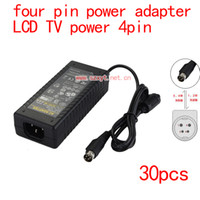 Wholesale pulse power6a pin LCD power supply AC DC adapter v6a four pin DC voltage regulator W
