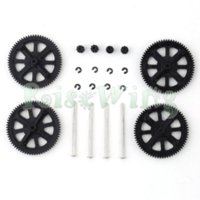 airplane clips - Gears w Shafts Clips Carbon Fiber Main Gear Protector Set For Parrot AR Drone Quadcopter Improve Flying Time