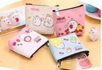 bag of coins - 2016 New Hot Potato customizable mini rabbit purse coin bag Korean version of the cartoon cute little purse child student