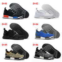 Wholesale 14Color Drop Shipping Famous Original NMD Runner Primeknit Womens Mens Sports Running Shoes Casual Shoes Size