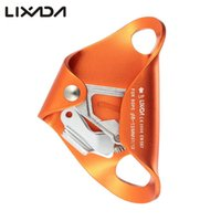 Wholesale 4KN Aluminum Alloy Chest Ascender for mm mm Rope Rock Rappelling Climbing Caving Smooth Rescue Gear Equipment Ascent By CE