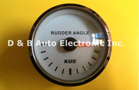 Wholesale Brand New KUS Rudder Angle Meters mm Rudder Angle Gauges For Boat With Sensor White Color