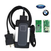 al por mayor nuevo cdp calidad-Nueva calidad de tarjeta única A ++ 2014 R2 Keygen Para automóvil CDP Pro Plus sin bluetooth OBD2 Scanner coche herramienta de diagnóstico