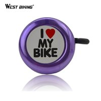 Wholesale Bike Bell Love Metal Ring Handlebar Bell Loud Sound Ring Horn Bicycle Accessories MTB Road Bike Cycling Bicycle Alarm Ring Bell