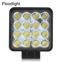 Wholesale hot Lumen W High Power X W Bead LEDs Square Offroad LED Work Light CEC_425