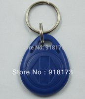 Wholesale bag ATMEL T5577 RFID smart hotel key fobs KHz rewritable readable and writable proximity ABS tags access control