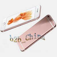 Wholesale Goophone i6 i6s Plus inch Dual Core MTK6572 Android Show GB GB G Phone call Show G Unlocked i6s Smart cell Phone by DHL