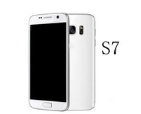 Wholesale Goophone S7 SM G930 inch MTK6580 Quad core show octa core Android M RAM G ROM Show GB Show G LTE Smartphone
