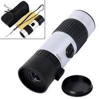 Wholesale New x x Binoculars Mini Telescope Adjustable Monocular Zoom Pocket Scope Sports Outdoors Night Vision Hunting Concert