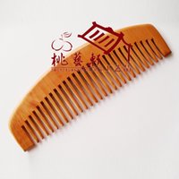 Wholesale Mahogany comb massage natural anti electrostatic not to hurt the two for one