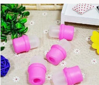Wholesale finger tip polish remover cover nail soaker
