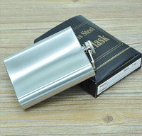 Wholesale Hot sale Portable Stainless Steel oz ml Hip Flask Flagon Whiskey Wine Pot Bottle Gift