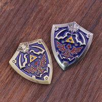 american indian legends - The Legend of Zelda Brooch Zelda Shield Zinc Alloy Pin Brooch Colors in stock