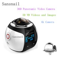 action kamera - 4K derece kamera Wifi Mini Action Camera Ultra HD Panorama Camera Degree Sport Driving VR Camera