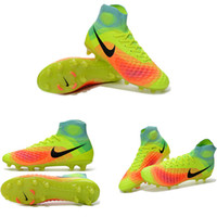 autumn ghost - Men s soccer cleats ghost brand second generation obra top high to help shoes FG nail Magista obra II FG women s soccer shoes